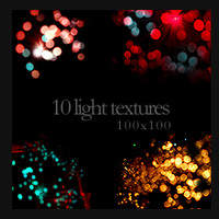 100x100 Light Textures by monstreum