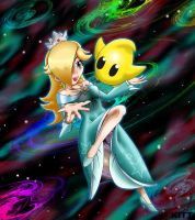 Rosalina and Luma by MKitt