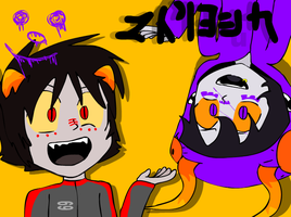 Gamzee and Karkat- be matryoskas by wafflesaregooderz83