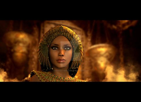 Cleopatra by RainfeatherPearl