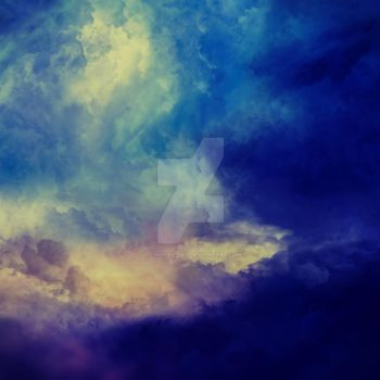Blissful Sky 1:1 Stock Background by LC-Bailey-Art