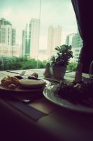 Breakfast With A View by prettygeeky