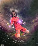 David Luiz by M-A-G-F-X-Graphic