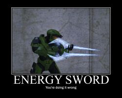 Energy Sword by SoundwaveSuperior