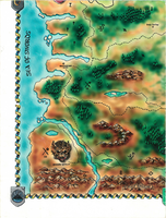 Baldur's Gate World Map - South West by Shade-os