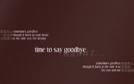 time to say goodbye widescreen by owq
