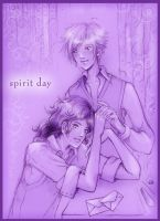Sirius and Remus - Spirit Day by Sirilu
