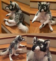 Halloween Werewolf 2 Soft Sculpture by Jarahamee