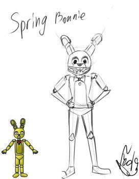 SpringBonnie by Fed9-OF