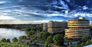 Watergate HDR Panorama by CharlesWb