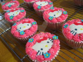 Hello Kitty Cupcakes 2 by meechan