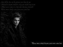 Rob Pattinson Wallpaper 01 by katieshelby