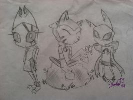 irken character designs by invader-zim09