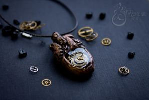 Steampunk Anatomical Heart by Wonder-fox