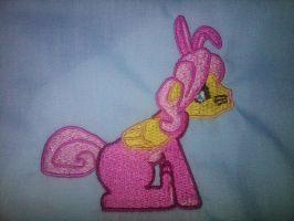 Butterscotch Embroidery by EthePony
