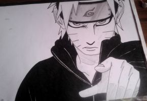 Naruto Uzumaki Chapter 652 - re-drawing by xNamida