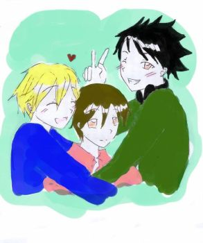 Ouran Triangle by Anime-Love-Triangles