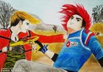 Party Poison and Kobra Kid by UNTILitFADEStoBLACK