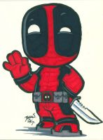 Chibi-Deadpool 4. by hedbonstudios