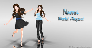 MMD REQUEST DONE - Naomi by NyaLinaa