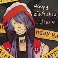 Happy Birthday Lina by mmochee