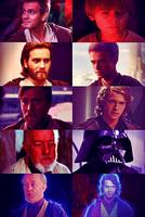 Anakin and Obi-Wan by Starwarsowa