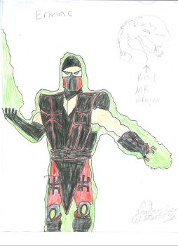 ermac by killercamt