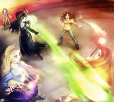 HP7 Spoiler Battle of Hogwarts by ShingoTM
