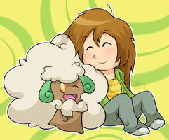 Lauzi and Whimsicott by Torkirby