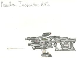 Promethean Incineration Rifle by Chigiri16