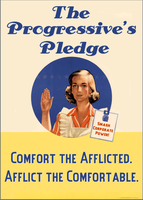 The Progressive's Pledge by poasterchild