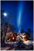 Cabin in Minnesota by roache7