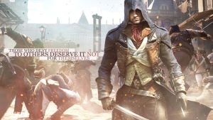 Assassins Creed UNITY (Wallpaper 1440p) by mastersebiX