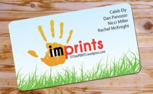imPRINTS Business Card Design by Alley9
