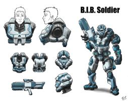B.I.B. Soldier by The-Midnight-Angel