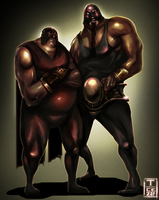 Luchadores by t-cezar