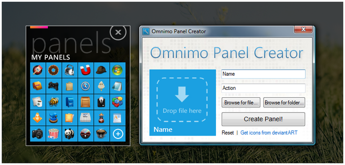 Omnimo Panel Creator by Xyrfo