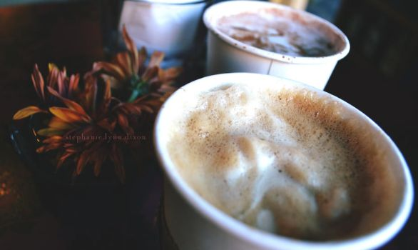 cocoa and coffee by whysostephanie