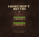 Minecraft Button by FeistyGraphic