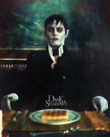 Barnabas Collins Portrait 2 by schoolessay