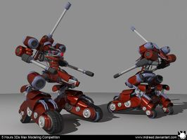 5Hours Mech Modeling by MDreed