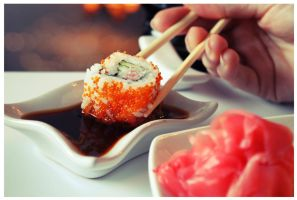 Sushi by jimmygorgeous