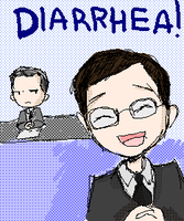 diarrhea 8D by FoxyRoxy237