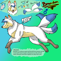 Brandon Reference page by WolfArtC