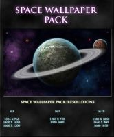 Space wallpaper pack by DottGonzo