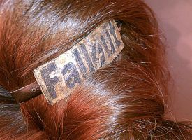 Fallout Hair-Clip by jmillgraphics