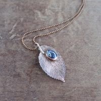 Autumn Sky necklace by WhiteSquaw