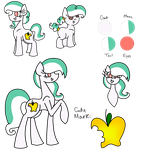 Golden Gallop Reference Sheet by TaylortheSnailor