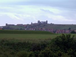 view of whitby abbey by Sceptre63