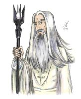 Saruman by Amadeo-Amadeo